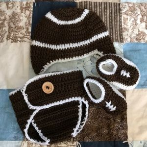 Other - Knit football outfit